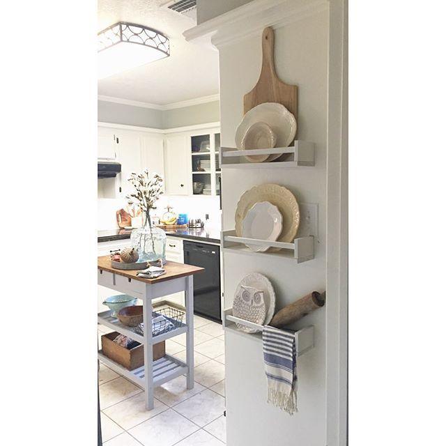 587 best IKEA BEKVÄM Spice Rack $4 images on Pinterest   Nurseries ...
