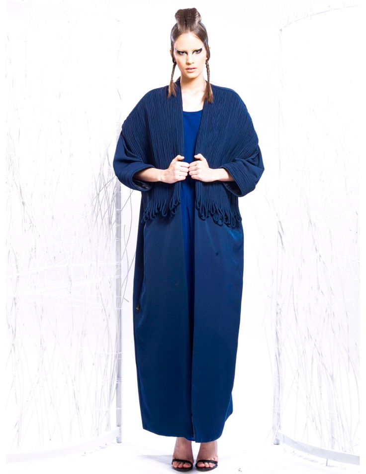 Knot abaya by Manal Alshehhi available on line www.atypic-creation.com #style #fashion #luxurybrand #mode #dubai #atypiccreation #newcollection #summer #unique #design #designers #dubai #emirati #qatar #store #online