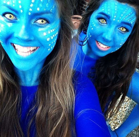 Homemade avatar fancy dress AVATARS ARE AWESOME!