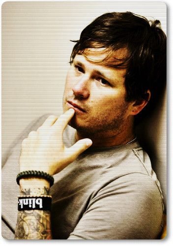 Tom DeLonge of Angels and Airwaves and blink-182