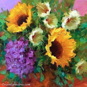 580 best Artist Nancy Medina (color) images on Pinterest   Art ...