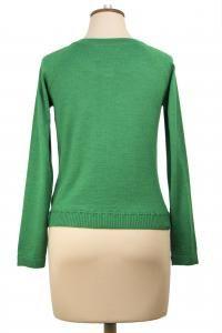 Bow Cardi, Available in Fejoa, Tangerine and Black $229 #winterstyles #merino #nzdesigner #cardigans