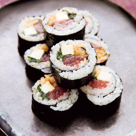 まぐろキムチキンパ   鈴木薫さんのすしの料理レシピ   プロの簡単料理レシピはレタスクラブニュース