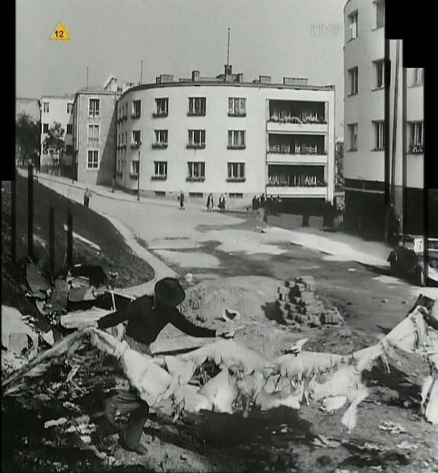 Warszawa - ul, Dynasy 4, 6 i 8, fot. Julien Bryan (1939)