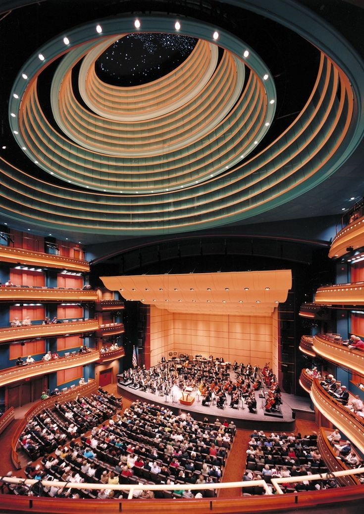 Schuster Performing Arts Center in Dayton, Ohio | Designed by Pelli Clarke Pelli Architects