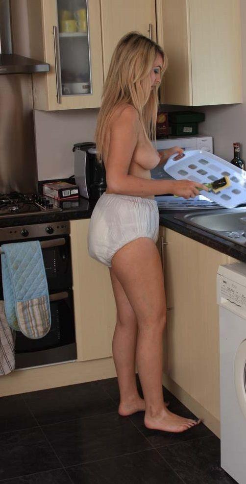 sexy girl in superman underwear nude