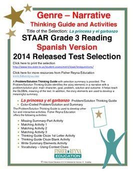 Spanish STAAR Analysis & Activities: La princesa y el ...