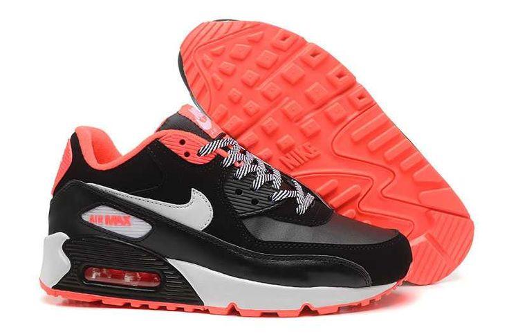 https://www.sportskorbilligt.se/  1767 : Nike Air Max 90 Dam Svart Vit SE788929UIRYRKp