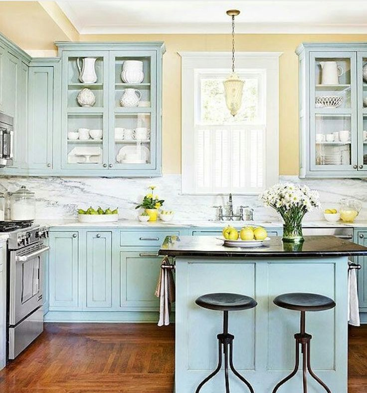 Kitchen Cabinet Color: 60 Best Turquoise Kitchens Images On Pinterest