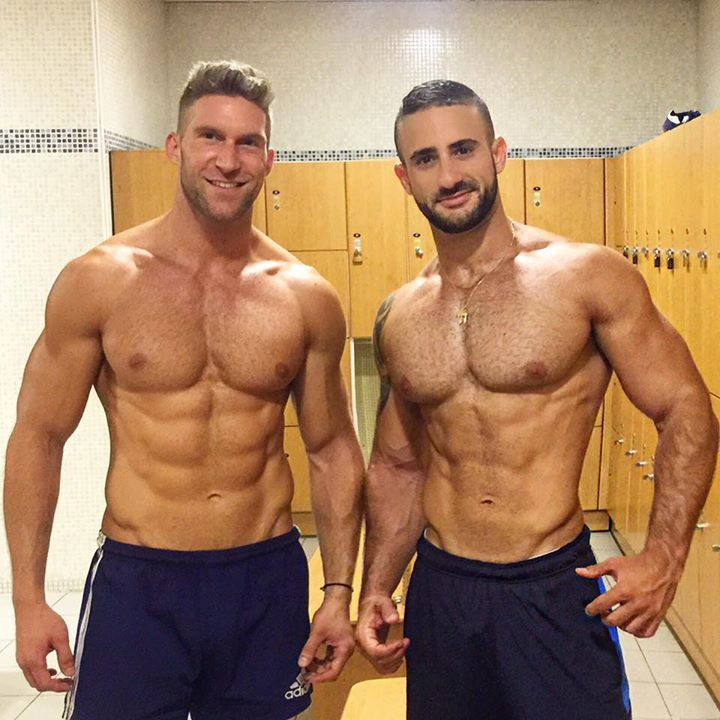 Eliad Cohen and lucky friend