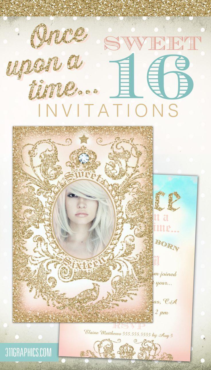 Fairytale Sweet 16 Invitations as good invitations layout