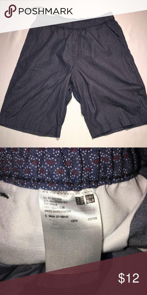 Uniqlo Shorts - S, 27-30in Uniqlo Shorts - S, 27-30in; Small paisley print Uniqlo Shorts