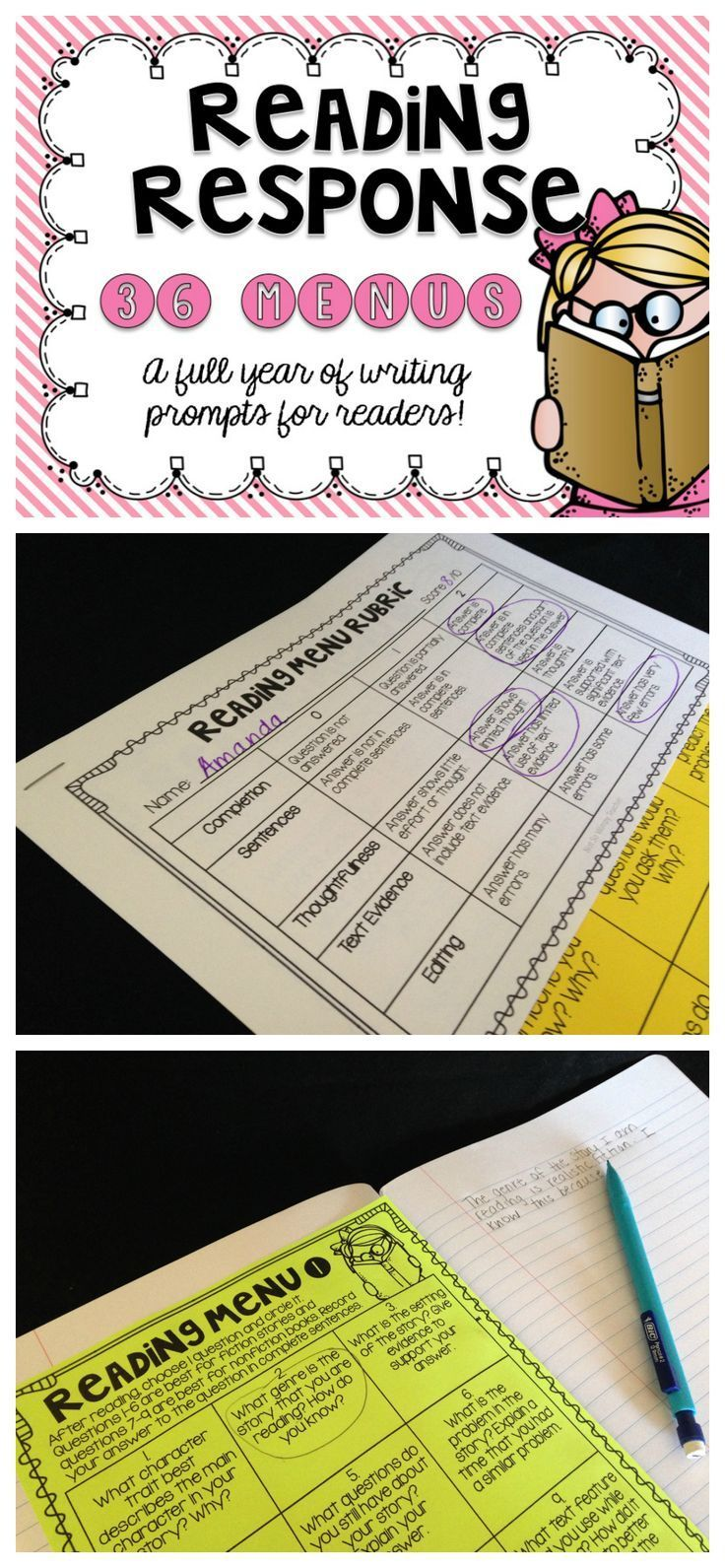 手机壳定制  free run Reading response menus give students some choice while allowing teachers to hold students accountable for independent reading and assess their understanding of various comprehension skills Learning to write about text will help students to deepen their understanding and prepare them for standardized testing