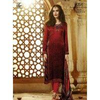 Rajdeep Ranaut  Silk Dress