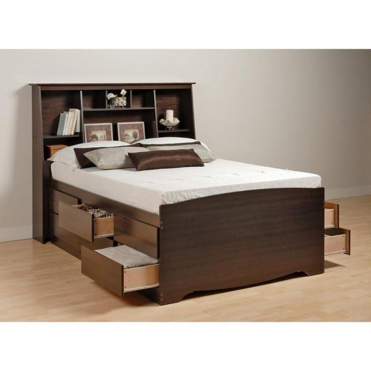14 best Beds\/Bedding images on Pinterest  Storage beds, Bedrooms and Platform bed