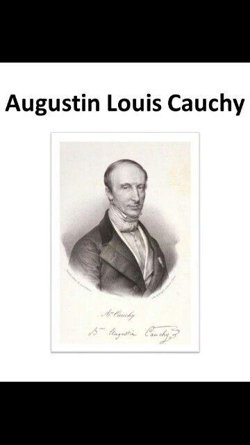 Augustin Louis Cauchy, ha lavorato in molte aree della matematica, soprattutto in analisi, dando notevoli contributi. Nasce il 21 agosto 1789 #mattamatica