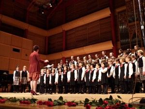 The Calgary Children's Choir performs at our Spanish Folk Concert at the Rozsa Centre!