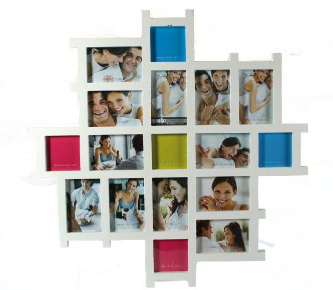 Această Ramă Foto Multiplă Lemn Alb este perfectă pentru a vă aminti de acolo momente speciale pe care le-ați petrecut alături de cei dragi. Puteți pune cele mai bune fotografii în Ramă Foto Multiplă Lemn Alb și să retrăiți acele momente. Ramă Foto Multiplă Lemn Alb este ideală pentru acasă sau chiar pentru birou.  Caracteristici: 6 fotografii 9 x 13 cm 6 fotografii 13 x 9 cm 5 fotografii 9 x 9 cm
