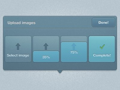 Image uploader pop-up by Kevin Anderson