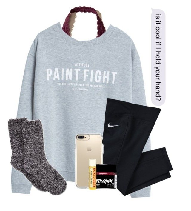 """❤️"" by wander-krn ❤ liked on Polyvore featuring Hollister Co., MANGO, NIKE, Speck, Burt's Bees and Charter Club"