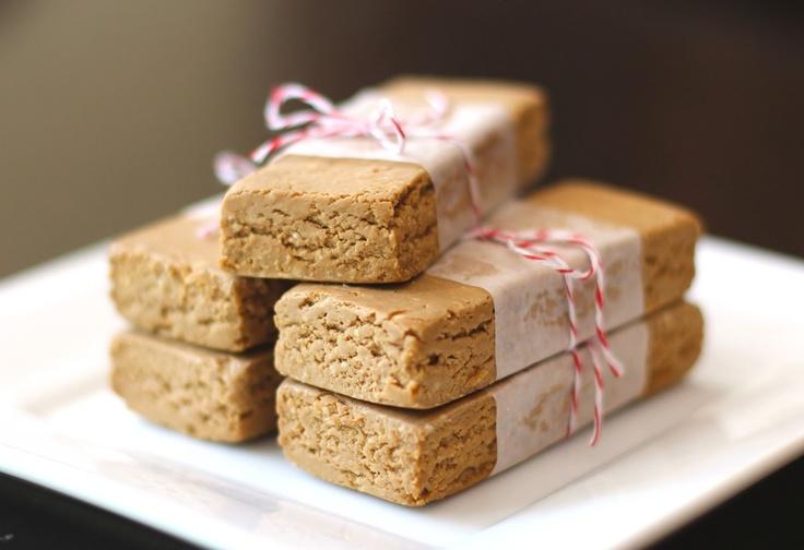 Peanut Butter Fudge Protein Bars