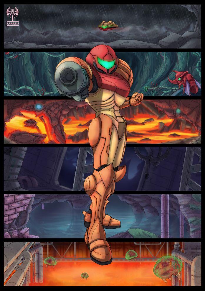 Super Metroid Tribute by sarrus.deviantart.com on ...