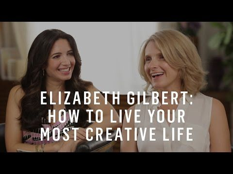 Must see for creatives. What Elizabeth Gilbert Wants You To Know About Big Magic with Maria Forleo.