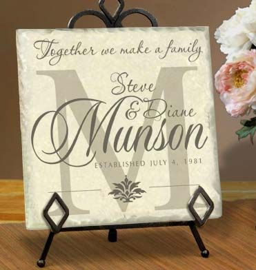 Personalized Tile Name Plaques by Simply Sublime