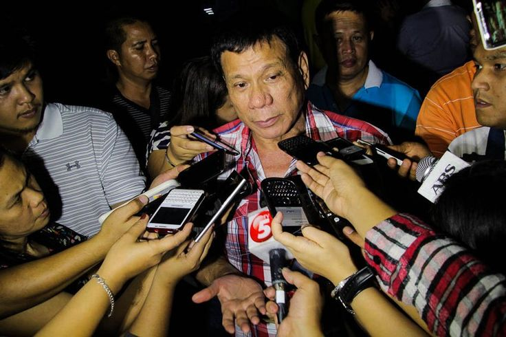 "Davao City's Rodrigo Duterte Said PNoy Must Take Full Responsibility For the Clash In Mamasapano - Duterte is in Dumaguete On His ""Listening"" Tour"