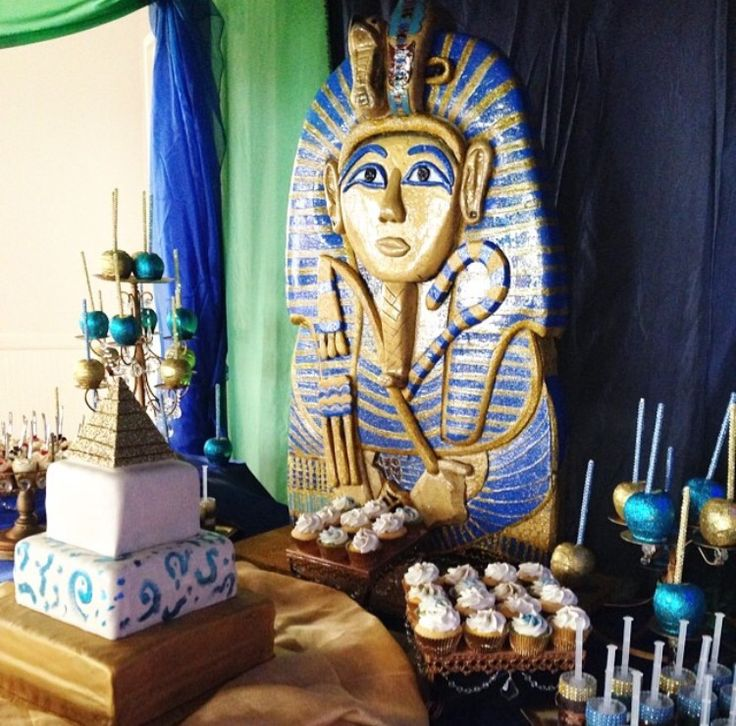 Egyptian Wedding, Egyptian Party, Baby Shower Parties, Shower Baby, Egyptian  Mummies, 10th Birthday, Birthday Party Ideas, Egyptian Goddess, Themed  Parties