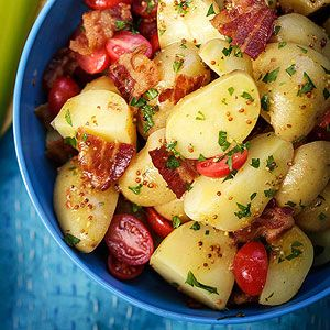 BLT potato salad...making tonight for lunches