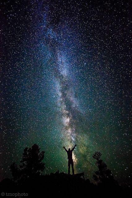 Milky way in Great Basin National Park, Nevada near the Utah border