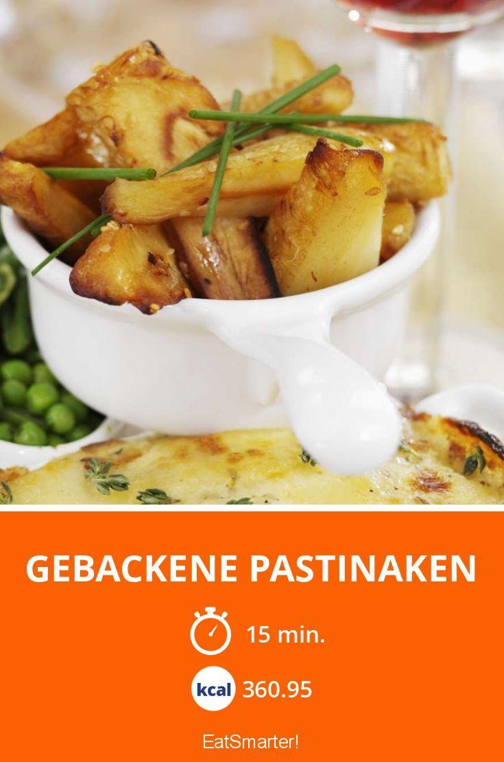 Gebackene Pastinaken - smarter - Kalorien: 360.95 kcal - Zeit: 15 Min.   eatsmarter.de