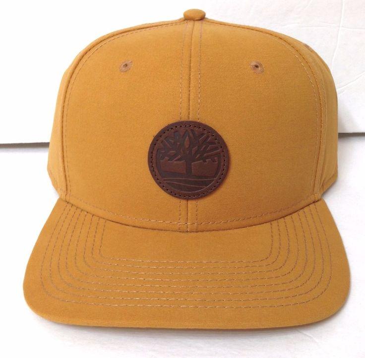 Color 700 Timberland Boots Snapback Hat Tan Orange Ish
