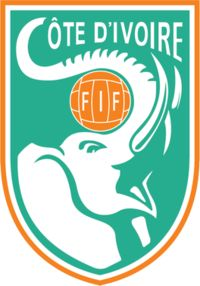 Nickname(s) 	Les Éléphants (The Elephants) Association 	Fédération Ivoirienne de Football Sub-confederation 	WAFU (West Africa) Confederation 	CAF (Africa) Head coach 	Michel Dussuyer Captain 	Yaya Toure Most caps 	Didier Zokora (123) Top scorer 	Didier Drogba (65) Home stadium 	Stade Félix Houphouët-Boigny  FIFA ranking 	21 Increase 3 (9 July 2015)  Elo ranking 	28 (6 July 2015) Highest Elo ranking 	10 (26 January 2013) Lowest Elo ranking 	70 (6 October 1996)