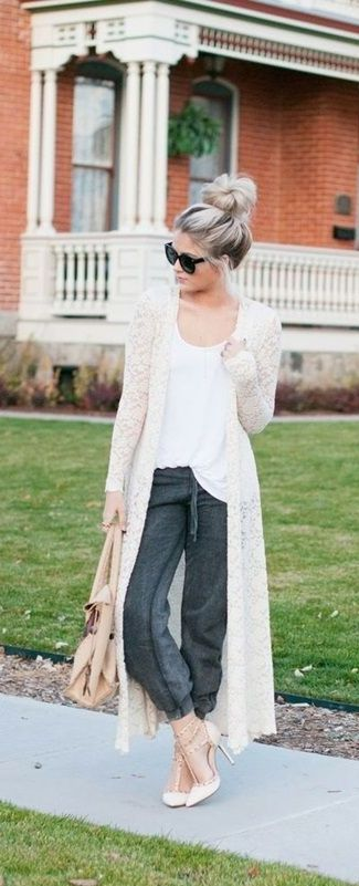 We're loving this duster cardigan style! How about you?