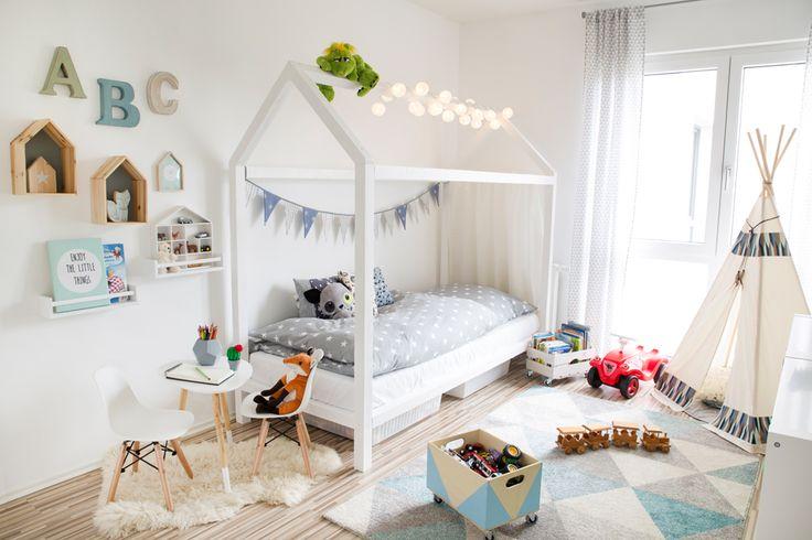 Die besten 17 ideen zu kinderbett junge auf pinterest - Welche farbe fa r jugendzimmer ...