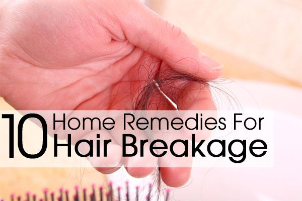 how to stop hair breakage fast