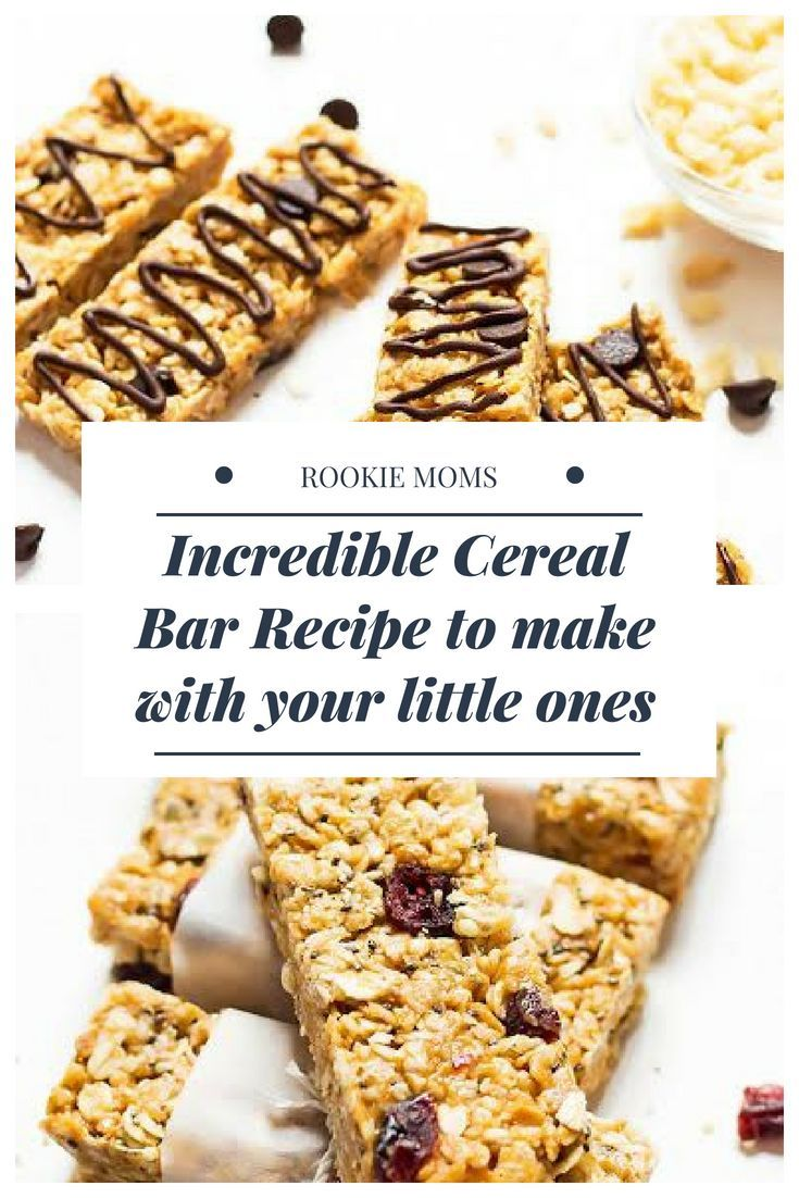 Incredible Cereal Bar Recipe To Make With Your Little Ones Cereal Bars Recipes Bars Recipes Recipes