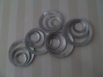 metalen wanddecoratie