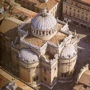 the cathedral from above