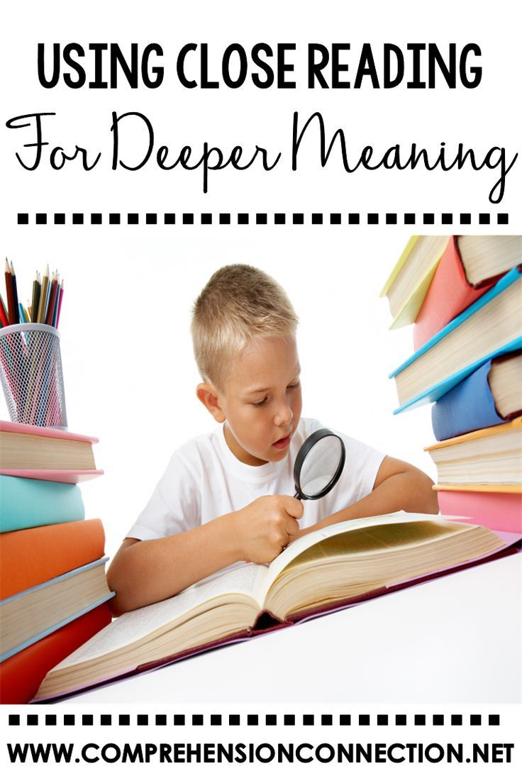 This post explains the close reading process and benefits. It includes a handout explanation for students too.