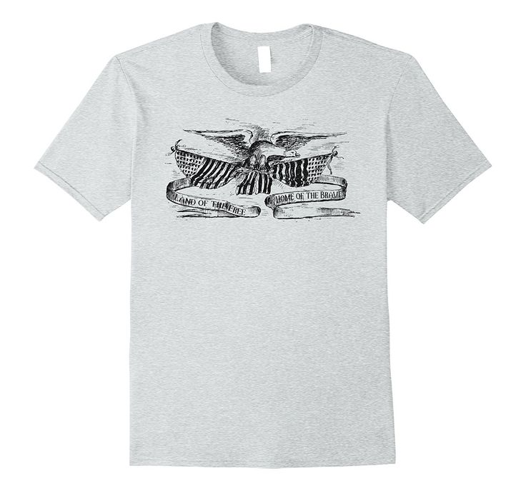 July 4th Independence Day American Flag Eagle T-Shirt