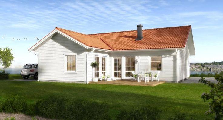 LB Optimal 108 | Arkitektritade & moderna hus när du ska bygga eget hus | LB-Hus