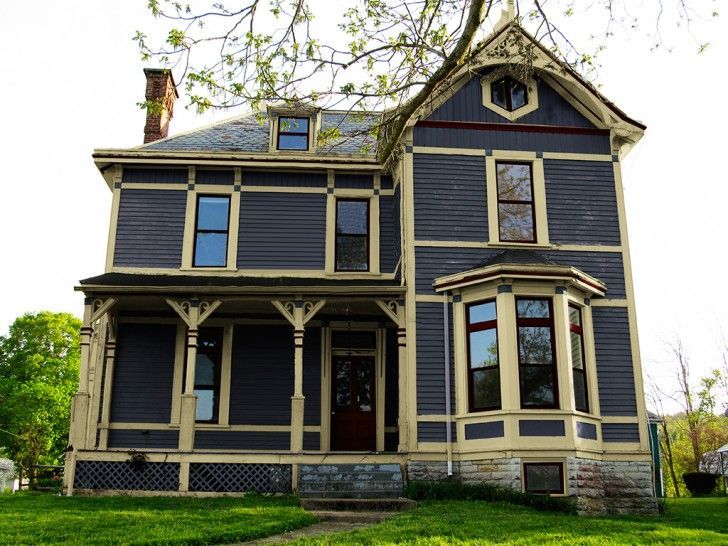 brown window frames exterior google search victorian on exterior home paint ideas pictures id=57822