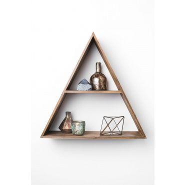 Triangle Wood Shelf