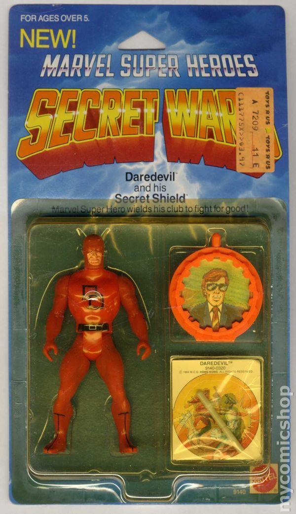 Marvel Super Heroes Secret Wars Action Figure (1984) ITEM#9140