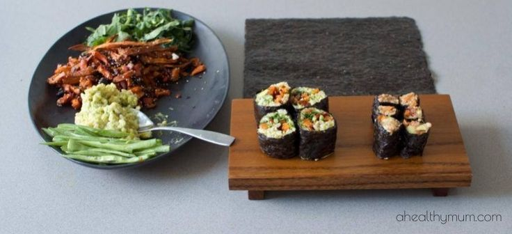 Stacey Clare – A Healthy Mum | Healthy sushi