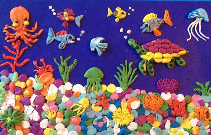 Лепка из пластилина, Центр Детского Творчества Сухум Абхазия