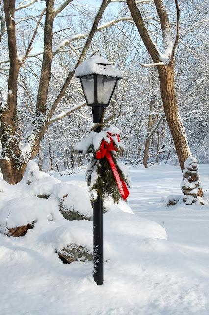 Snow! I love winter. Connecticut